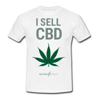 T-Shirt - 'I sell CBD'